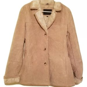 New Woman's AVANTI Tan Coat